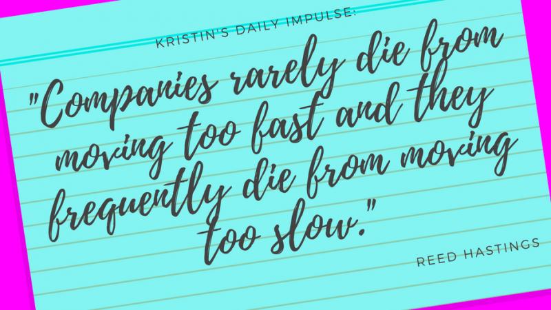Kristin's daily impulse #20