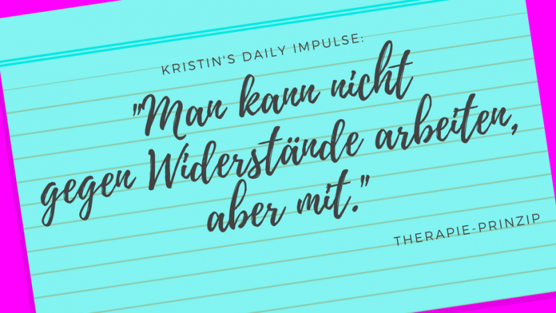 Kristin's daily impulse #21