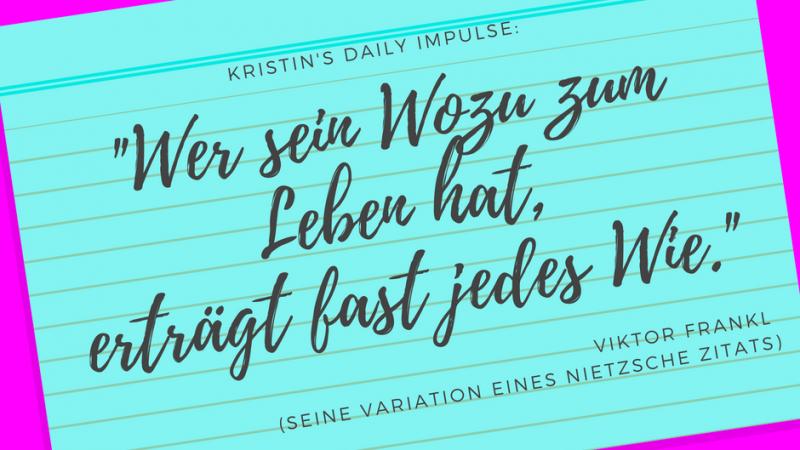 Kristin's daily impulse #24