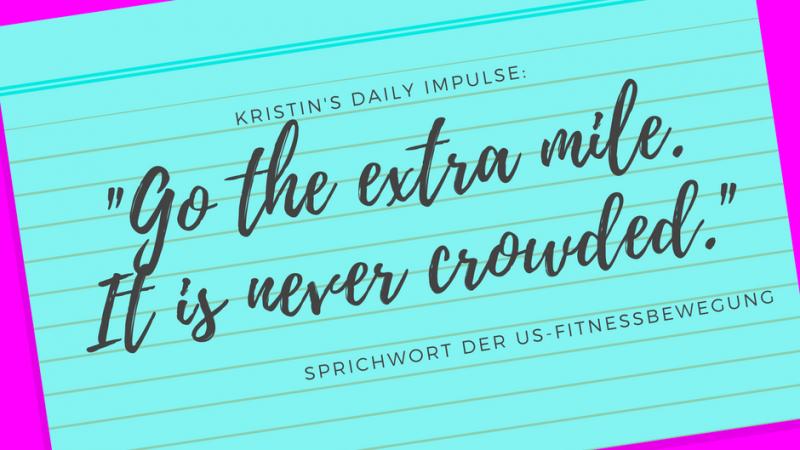 Kristin's daily impulse #25
