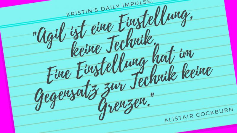 Kristin's daily impulse #28