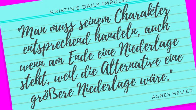 Kristin's daily impulse #33