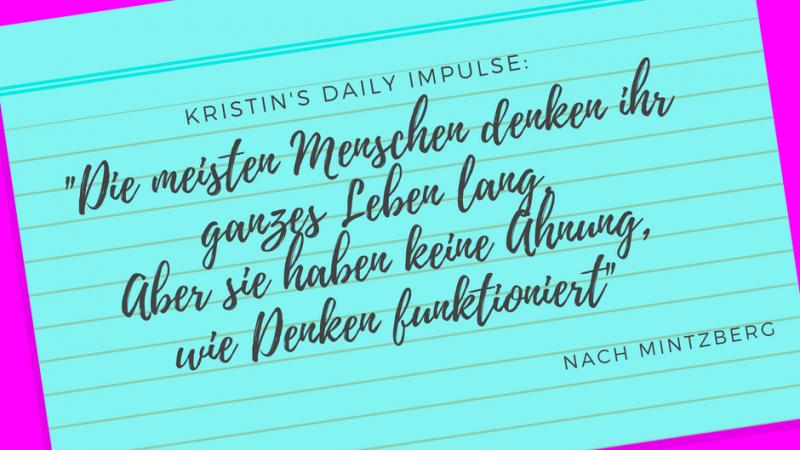 Kristin's daily impulse #46