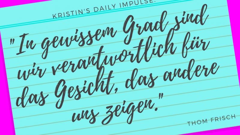 Kristin's daily impulse #51