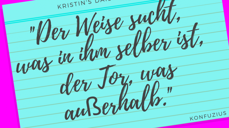 Kristin's daily impulse #56
