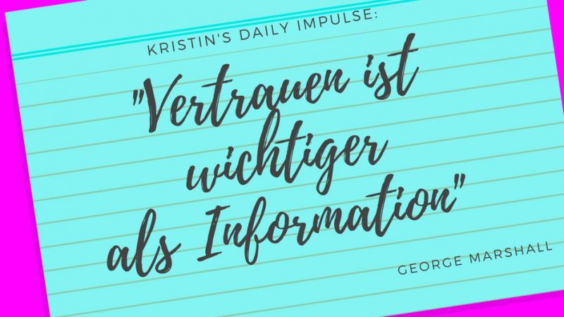 Kristin's daily impulse #57