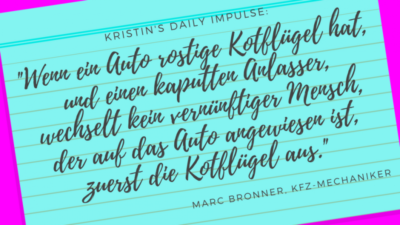 Kristin's daily impulse #62