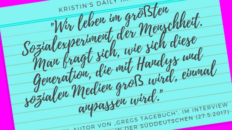Kristin's daily impulse #63