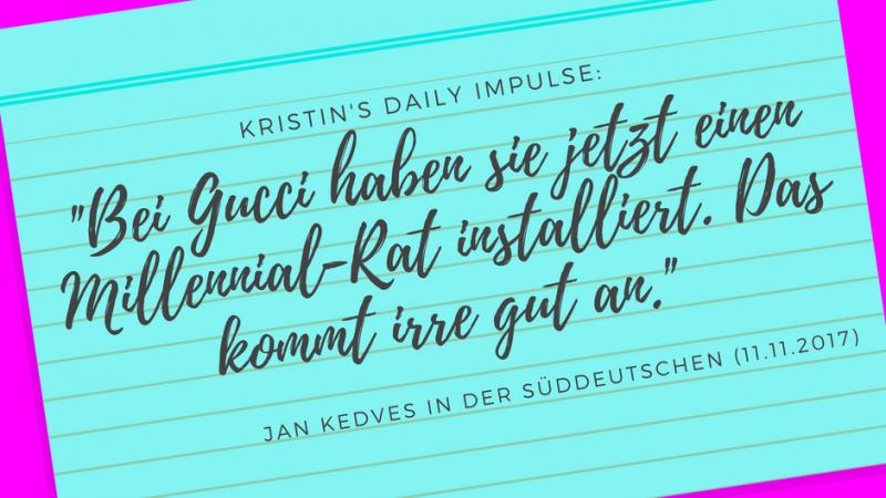 Kristin's daily impulse #64
