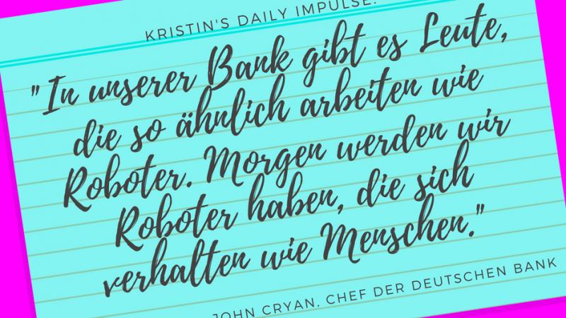 Kristin's daily impulse #65