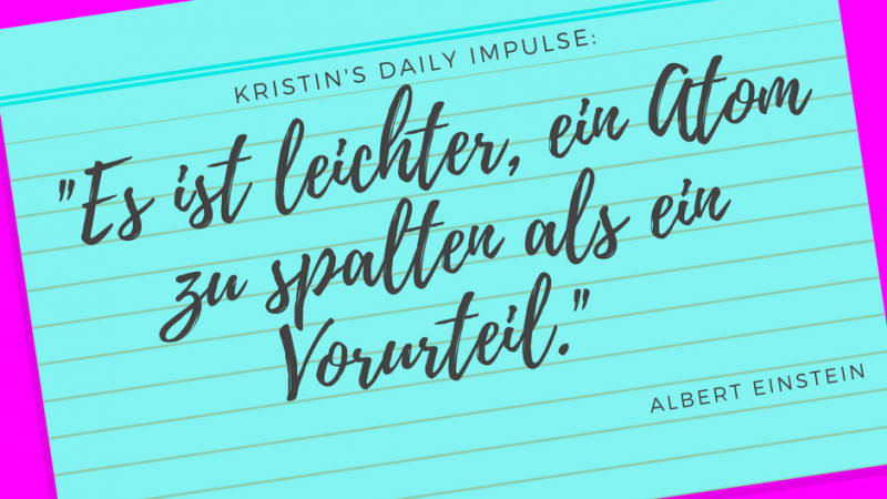 Kristin's daily impulse #72