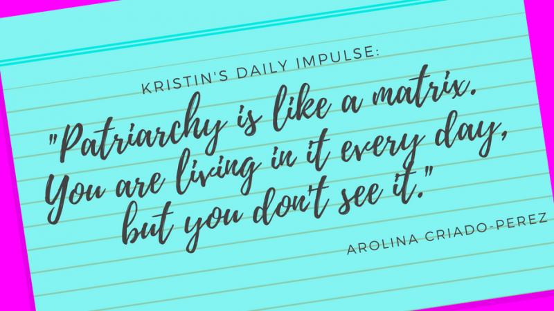 Kristin's daily impulse #76