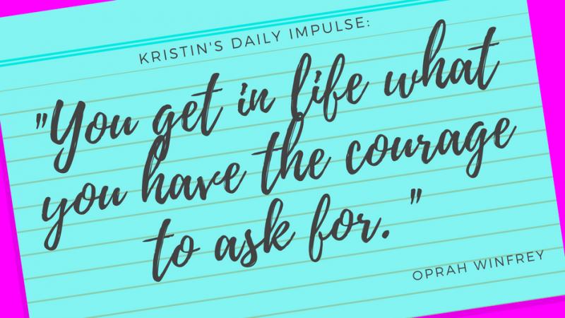 Kristin's daily impulse #92