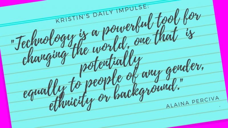 Kristin's daily impulse #93