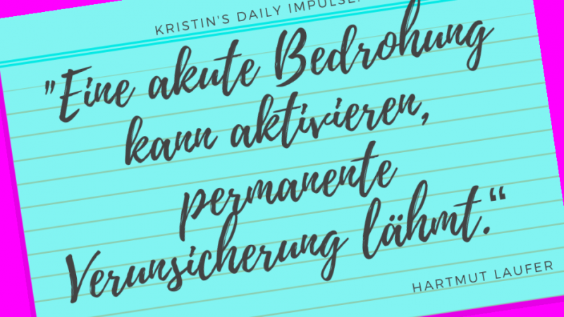 Kristin's daily impulse #122