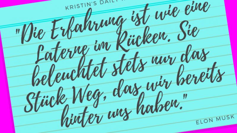 Kristin's daily impulse #124