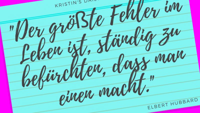 Kristin's daily impulse #128