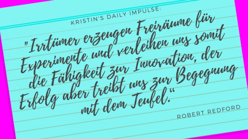 Kristin's daily impulse #190