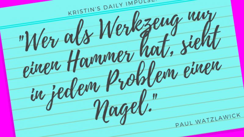 Kristin's daily impulse #264