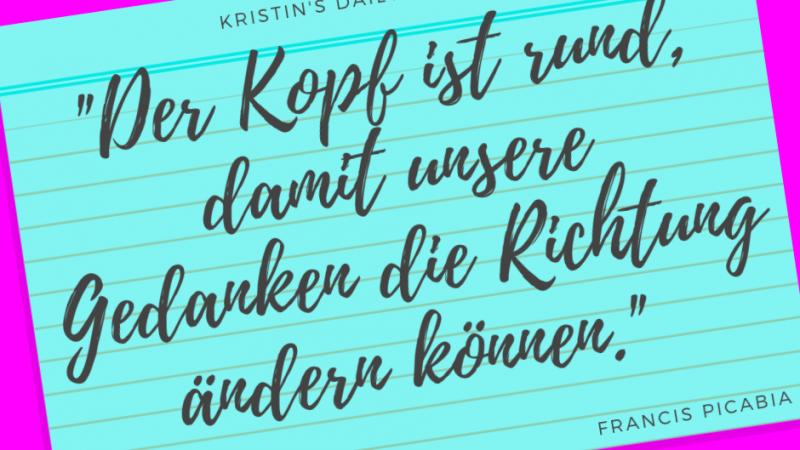 Kristin's daily impulse #265