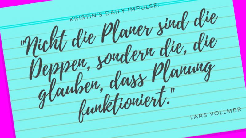 Kristin's daily impulse #267