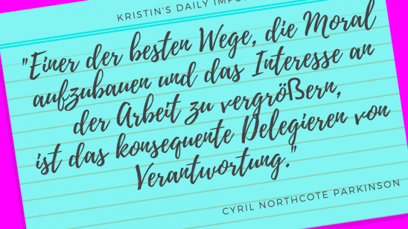 Kristin's daily impulse #283