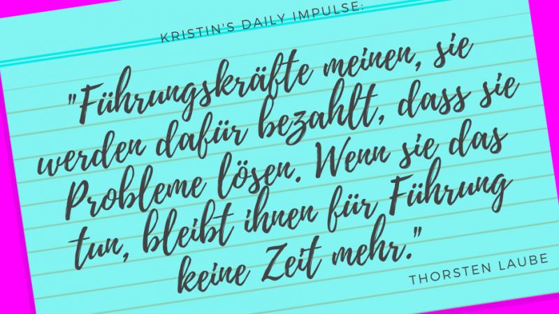 Kristin's daily impulse #286