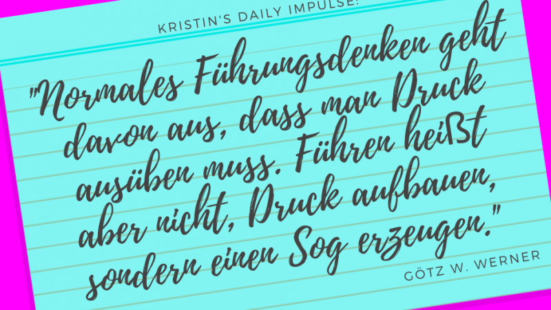Kristin's daily impulse #287
