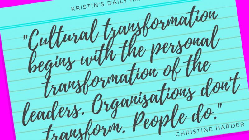 Kristin's daily impulse #288