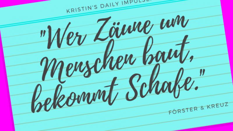 Kristin's daily impulse #306