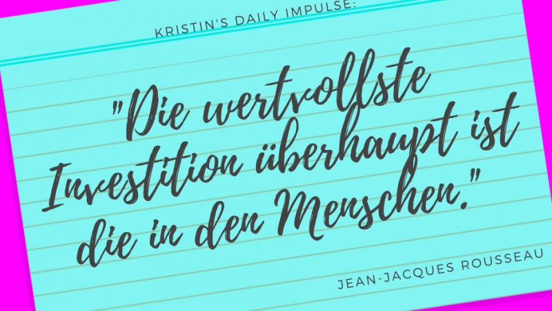 Kristin's daily impulse #309