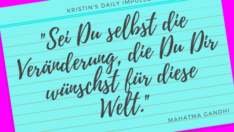 Kristin's daily impulse #317