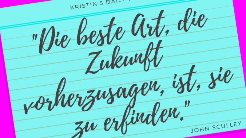 Kristin's daily impulse #318