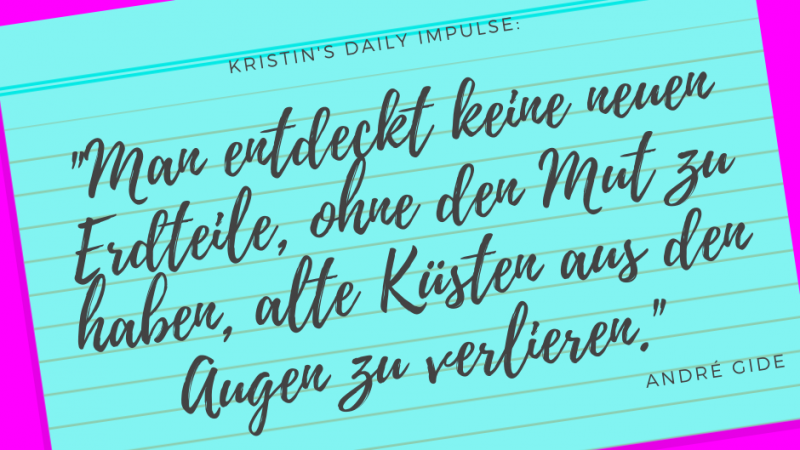 Kristin's daily impulse #319