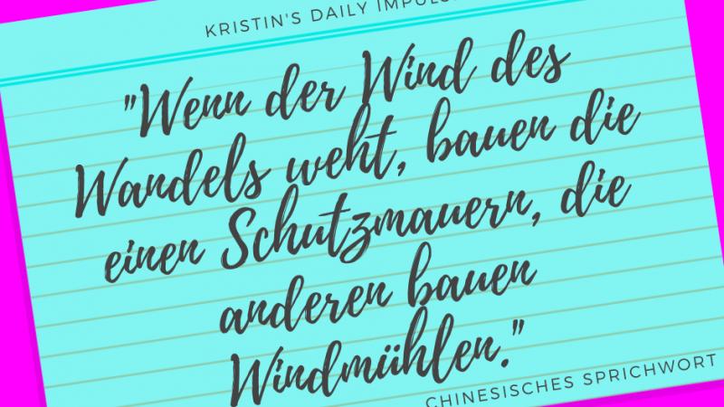 Kristin's daily impulse #322