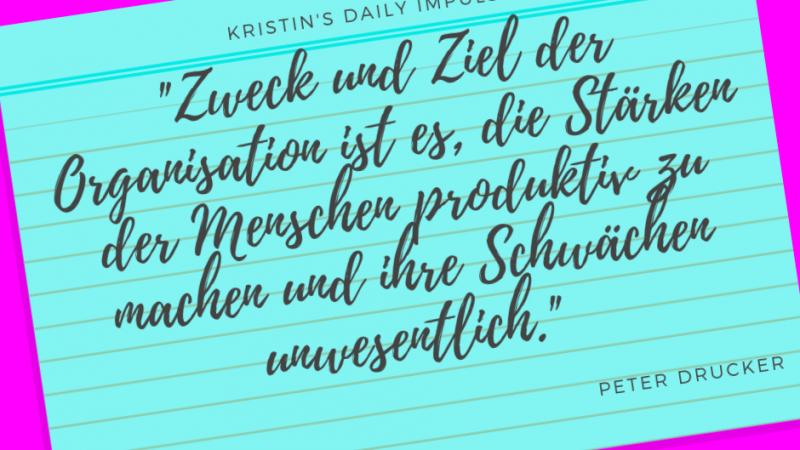 Kristin's daily impulse #336