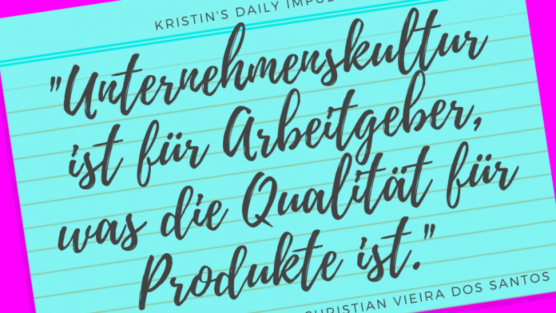 Kristin's daily impulse #338