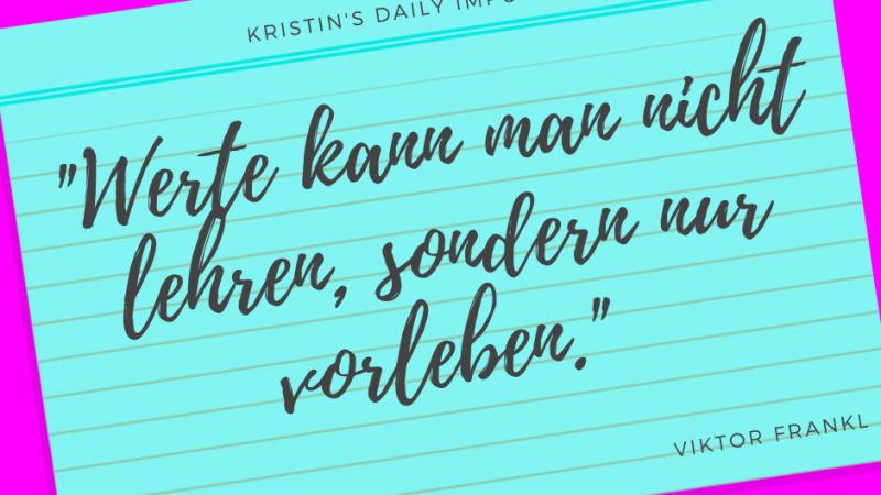 Kristin's daily impulse #339