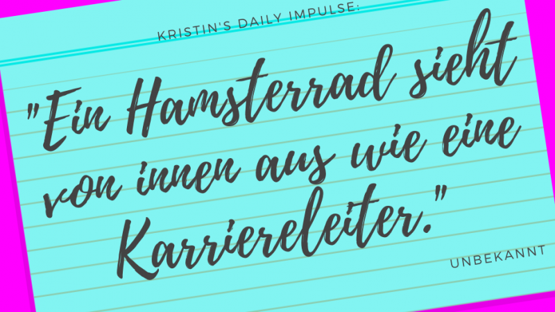 Kristin's daily impulse #340