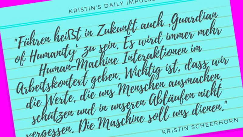 Kristin's daily impulse #359